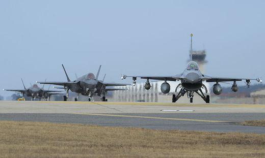 Die USA startete ein Militärmanöver mit Südkorea