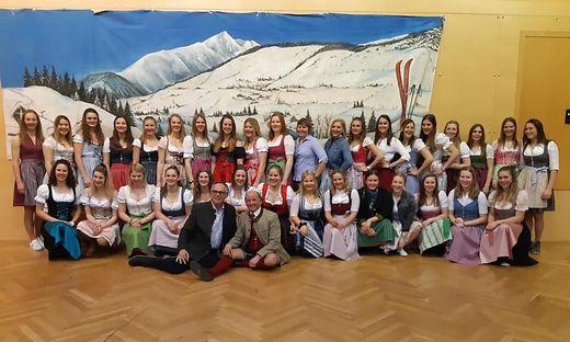 Die Teilnehmerinnen der Krakauer FIS-Rennen