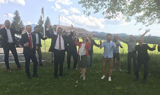Siegesstimmung bei der SPÖ in Eibiswald