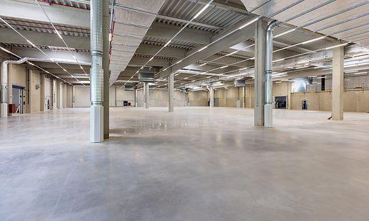 Die neue Halle in Werndorf