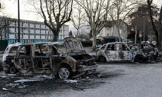 FRANCE-ACCIDENT-INVESTIGATION-RIOTS