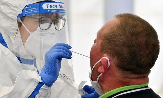 Coronavirus - Tests bei Toennies Weiszenfels