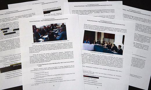 Der geschwärzte Mueller-Bericht