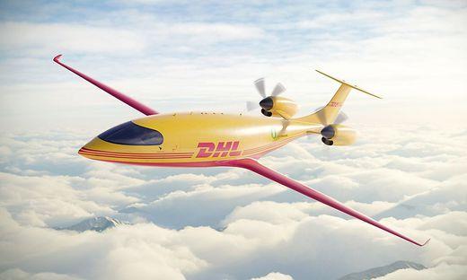DHL Express startet in emissionsfreie Zukunft der Luftfahrt:  Kauf der ersten vollstaendig elektrischen Frachtflugzeuge von Eviation