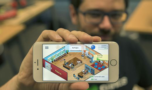 Game Dev Tycoon gibt's jetzt auch mobile