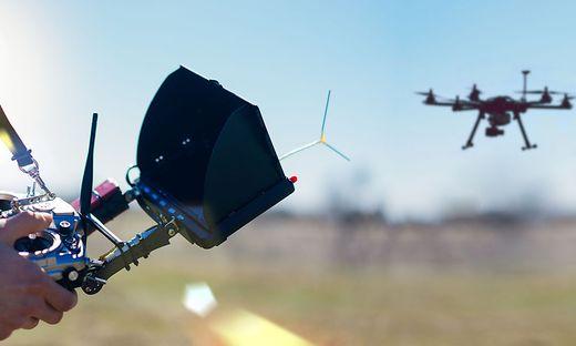 Im Bereich Kreuzeck in Oberkärnten entsteht ein Testgebiet für Drohnenflüge