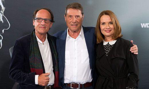 Manfred Bockelmann, Udo Jürgens und Jenny Jürgens