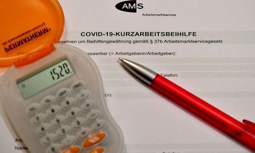 CORONAVIRUS - KURZARBEIT/ARBEITSMARKT