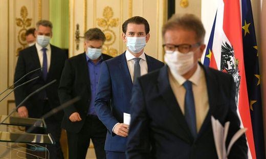 Die Bundesregierung während der Coronakrise