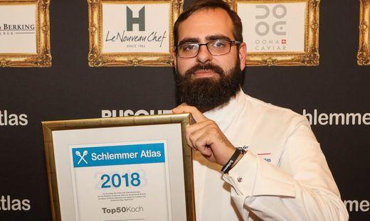 Laut Schlemmer-Welt einer der 50 besten Köche Österreichs: Alexander Posch