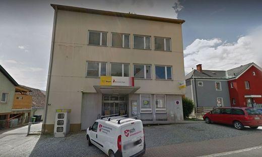 Das Postgebäude in der Fohnsdorfer Landstraße