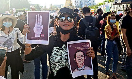 Sanda Lynn Shein nahm an den Demonstrationen teil