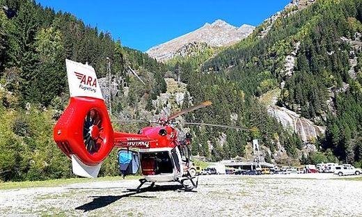 Der Wiener wurde vom Mölltaler Gletscher ins Krankenhaus Spittal geflogen