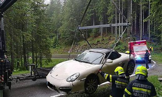 Das Fahrzeug wurde abgeschleppt