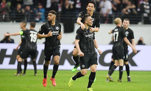 Frankfurt steht im Halbfinale der Europa League