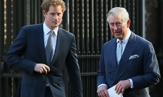 Charles, William, Harry