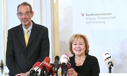 Da war die Welt noch in Ordnung: Faßmann und Wiesinger