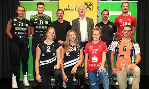 VOLLEYBALL - STVV, press conference
