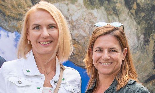 Claudia Rossbacher und Sabine Flieser-Just