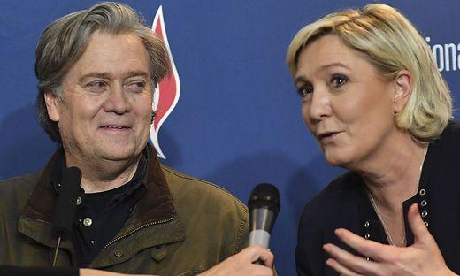 Bannon und Le Pen