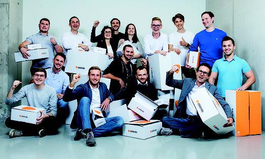 Das Zalando-Projektteam der Knapp AG