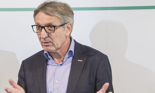 Wirtschaftskammer-Präsident Josef Herk