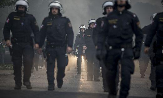 Großveranstaltungen, wie das ÖFB-Cupfinale im Mai 2017 in Klagenfurt, wären ein Einsatzgebiet der neuen Polizeieinheit