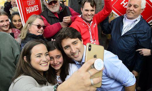 Justin Trudeau könnte heute abgewählt werden