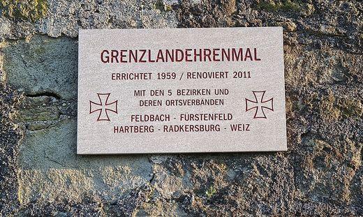 Das Grenzlandehrenmal auf der Riegersburg wird verlegt