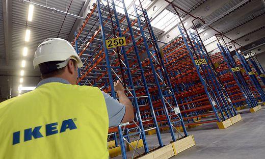 Das neue Ikea-Logistikzentrum in Wien-Strebersdorf