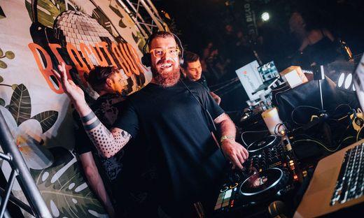 Bei der Silent Disco hat nicht nur der DJ die Kopfhörer auf