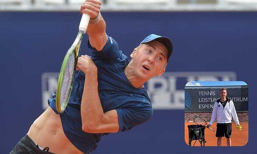 Der Pörtschacher Bastian Trinker ist nun Tennistrainer und Touringcoach in Leipzig