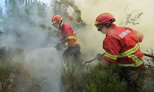 Auch Portugal hatte mit Naturkatastrophen zu kämpfen