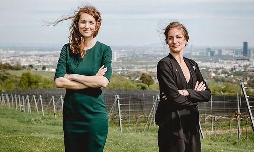 Technologie-Expertinnen Pia Seeberger und Valerie Herzog