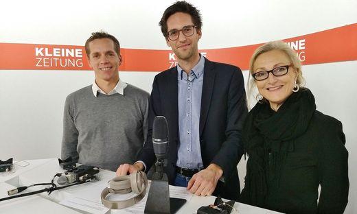 Martin Pansy, Markus Zottler, Andrea Keimel