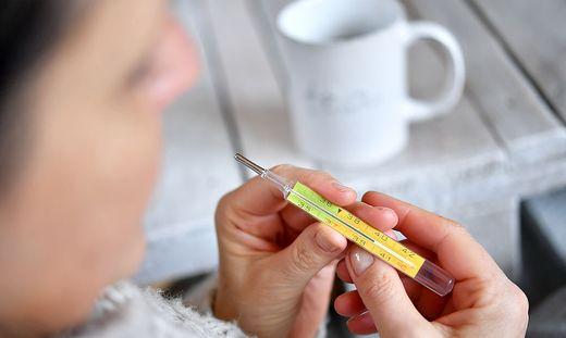 Grippe: Mehr Erkrankte