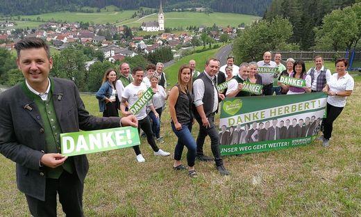 Einen klaren Erfolg feiert die ÖVP in St. Peter am Kammersberg