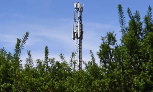 Sendemasten werden auf den 5G-Standard umgerüstet