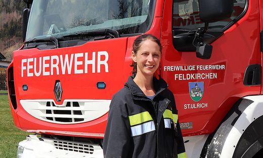 Lisa Wadl engagiert sich seit fast 20 Jahren bei der FF St. Ulrich bei Feldkirchen