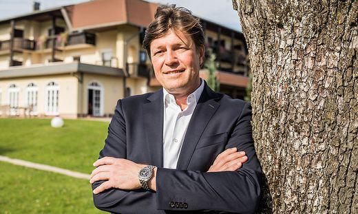 Josef Petritsch Tourismusobmann Klopeinersee Kaernten