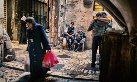 Straßenszene aus der Altstadt von Jerusalem: Israels Araber fühlen sich als Bürger zweiter Klasse