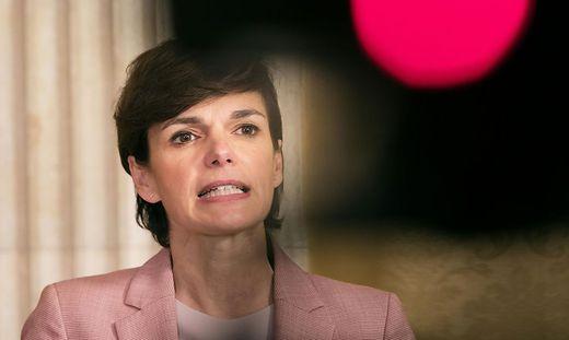 SPOe-SITZUNG IM WIENER RATHAUS: PAMELA RENDI-WAGNER