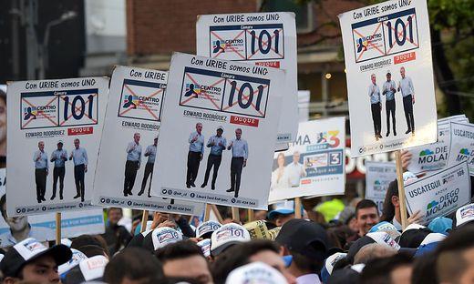 Uribes Partei stärkste Kraft bei Parlamentswahl in Kolumbien