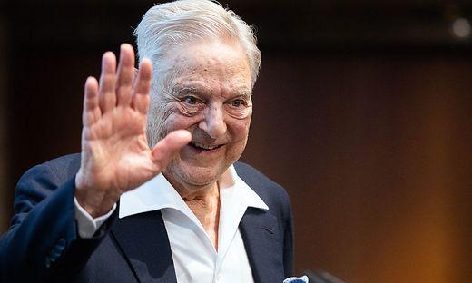 VERLEIHUNG DES SCHUMPETER PREISES 2019 AN GEORGE SOROS