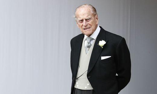 Prinz Philip liegt im King Edward VII-Krankenhaus in London