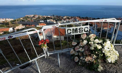 Trauer auf Madeira