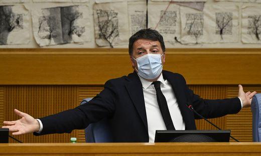 Italiens früherer Ministerpräsident Matteo Renzi stürzt mitten in der Pandemie die Regierungskoalition in eine tiefe Krise
