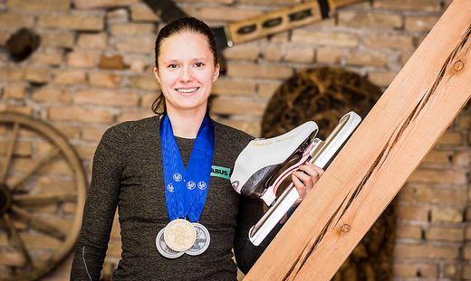 Vanessa Herzog holte bei der EM in Russland sensationell Gold, Silber und Bronze