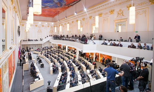 NATIONALRAT: BUDGETREDE DES FINANZMINISTERS LOeGER