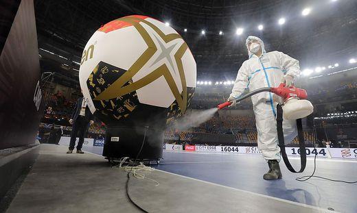 Sicherheit geht bei der Handball-WM vor